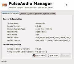 PulseAudio Manager